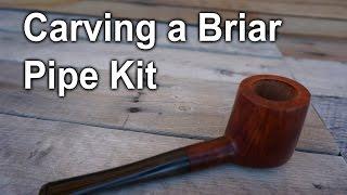 Carving A Briar Pipe Kit