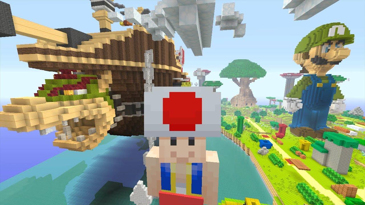 Airship Mario Minecraft