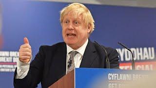 Boris Johnson launches Scottish Tory Party manifesto | General Election 2019