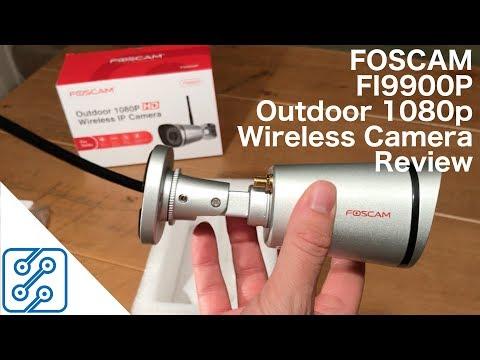 Foscam FI9900P Outdoor 1080p Wireless IP Camera Review - YouTube
