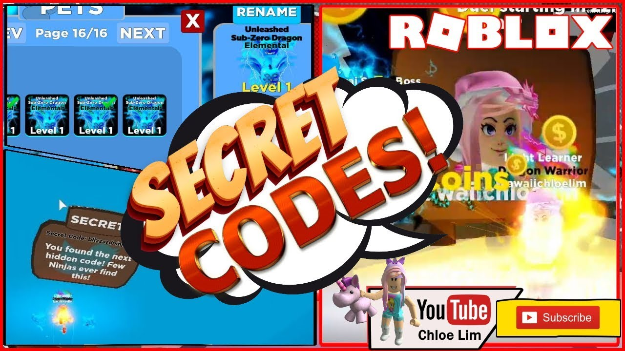 Roblox Ninja Legends New Update Chloe Tuber Roblox Ninja Legends Gameplay 2 New Secret Code In