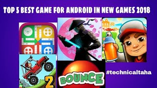 top 5 best game for android in new games 2018