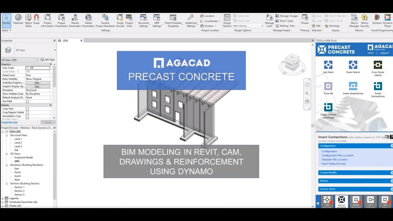 Automatic Generation of Shop Drawings in Revit® | Smart
