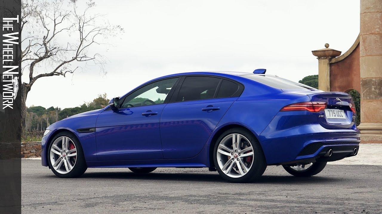 2019 Jaguar Xe R Dynamic S P250 Rwd Caesium Blue Exterior