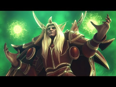 World Of Warcraft - Fury Of The Sunwell Remastered (WoW Cinematic)