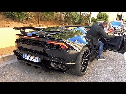 Liberty Walk LB Performance Lamborghini Huracán Spyder! Exhaust Sounds!
