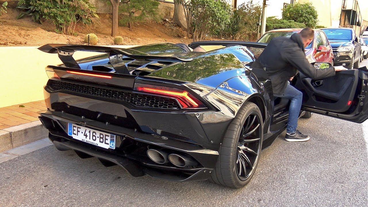 Liberty Walk Lb Performance Lamborghini Huracan Spyder Exhaust