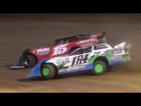 FASTRAK Crate Late Model Heat Two | Tyler County Speedway | 6-30-18
