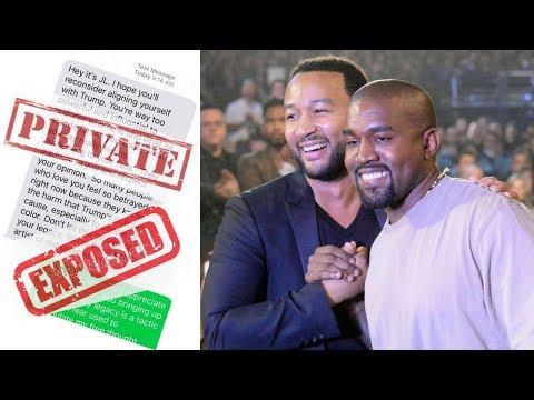 Kanye West puts JOHN LEGEND on Blast Posting Private Text Messages! Mp3