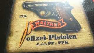 Walther PPK Replica Denix Spain ZIB Militaria