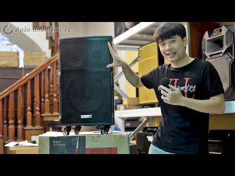 Loa kéo bass nén Temeisheng A173: 3 tấc mạnh như 4 tấc!