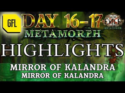 Path of Exile 3.9: METAMORPH DAY #16-17 Highlights MIRROR OF KALANDRA, MIRROR OF KALANDRA