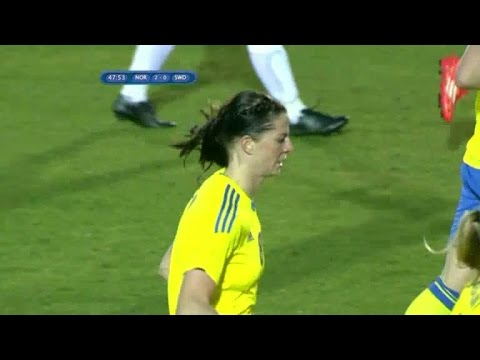 Här vänder Asllani 0-2 till 3-2 mot Norge - TV4 Sport