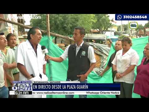 Remodelación en la Plaza Guarín de Bucaramanga afectó ventas de comerciantes