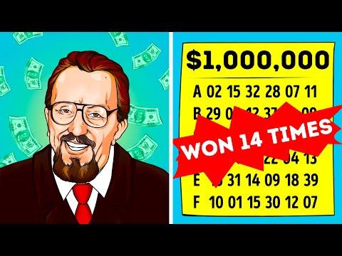 14-Times Lottery Winner Finally Reveals His Secret