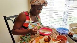 Ghana Breakfast Special: