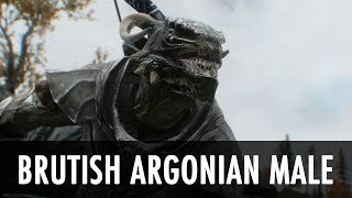 Repeat youtube video Skyrim Mod Spotlight: Brutish Argonian Male