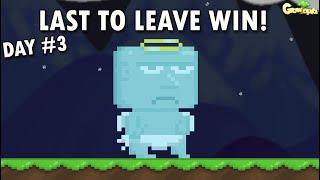 Last To Leave Circle Wins 100 World Lock!! OMG!! | Growtopia