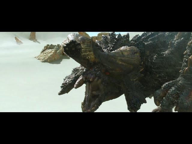 映画予告-映画『モンスターハンター』ディアブロス亜種が砂漠に出現!本編映像