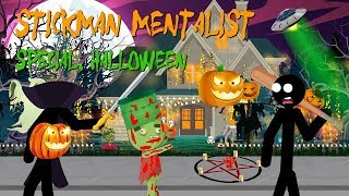 Stickman is a mentalist.  Special. HAPPY HALLOWEEN.
