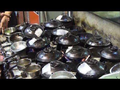 Hong Kong Street Food. Hot Pot Restaurant in Mong Kok, Kowloon