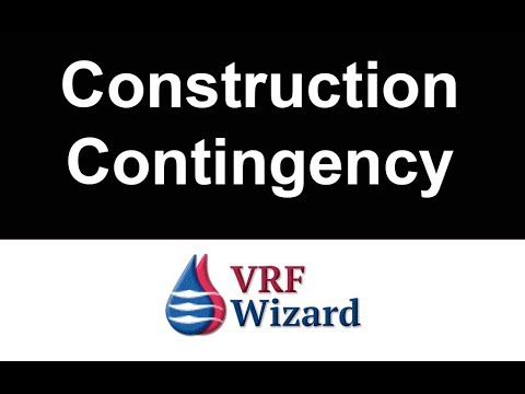 Construction Estimating Contingency Factors