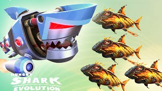 Hungry Shark Evolution: Robo Shark Vs Baby Lava Shark - Gem Spending