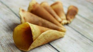Cách Làm BÁNH ỐC QUẾ Ăn Kem Giòn Thơm Bằng Chảo Chống Dính   Nhung Cooking