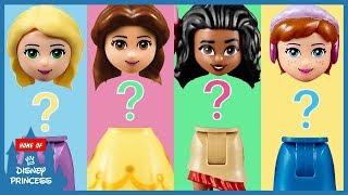 ♥ Wrong Body LEGO Disney Princess Belle Rapunzel Moana Frozen Anna Finger Family Nursery Rhymes