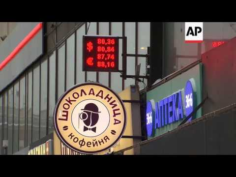 Russian Ruble At Record Low Against US Dollar