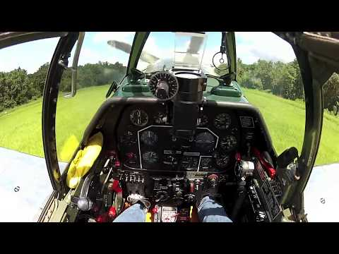 North American P-51C Mustang - Part 3 - Flight - Kermie Cam