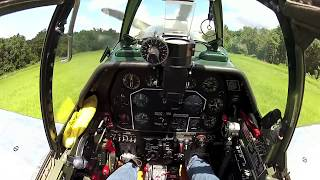 North American P-51C Mustang - Part 3 - Flight - Kermie Cam