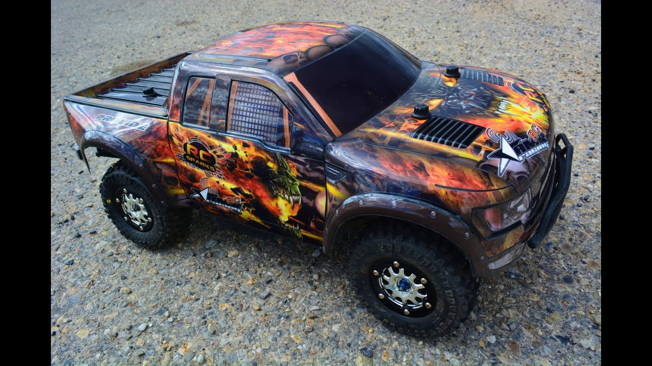 RC ADVENTURES FORD SVT RAPTOR TRAXXAS SLASH 4X4 ULTiMATE TRUCK