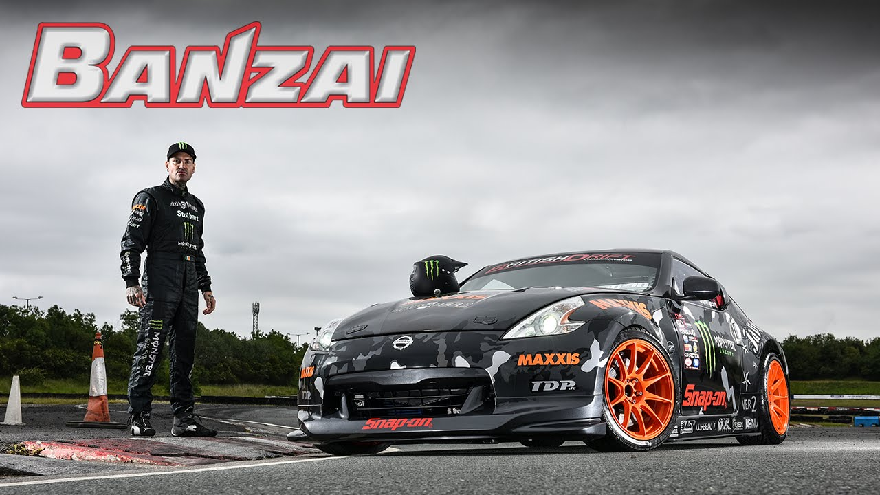 unleashing team japspeed's nissan v8 370z ft. shane lynch - banzai