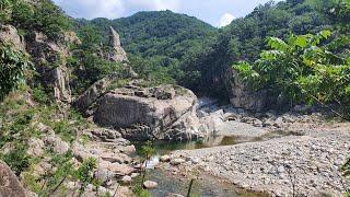 영명사 관광 태백 귀로중 멋진계곡 맑은물 경치가 기막혀…