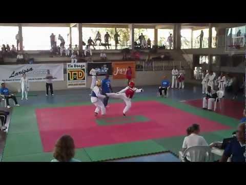 2º Round Diego Paixão Campeão XVI Copa Edmond de Tae-kwondo