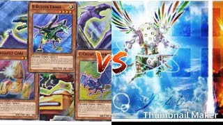 YUGIOH CYBER DRAGON ABC VS HERALD OF PERFECTION GAMES 1amp2
