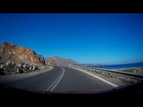 From Prasonisi Kite Beach to Atrium Platinum,  Rodos - Greece 2017