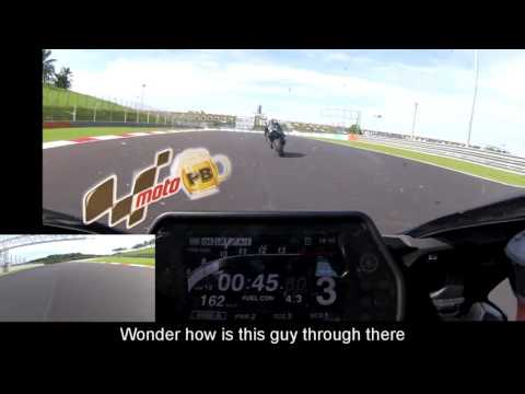 2015 Yamaha R1M - Sepang on board lap time - 2:21s (messy)