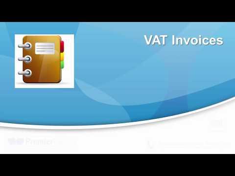 VAT Invoices - Premier Training