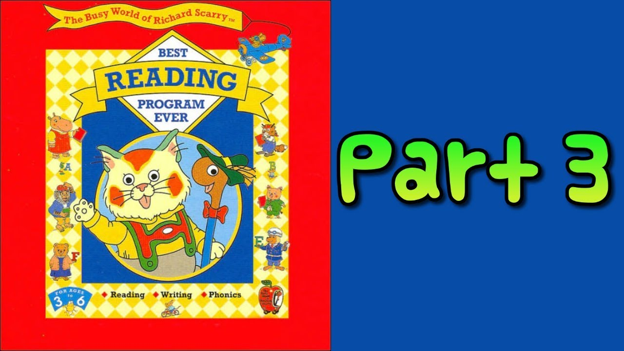 Whoa, I Remember: The Busy World of Richard Scarry Best Reading Program  Ever: Part 3