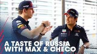 A Taste Of Russia | Rating Russian Food With Max and Checo