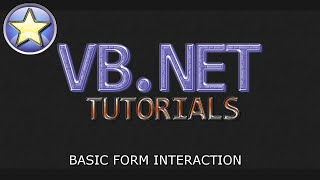 VB.NET Tutorial For Beginners - Multiple Forms & Form Interaction (Visual Basic .NET)