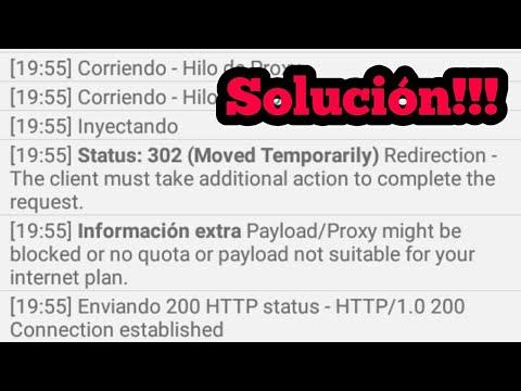 Error 302 moved temporarily ( Solucionado) HTTP INJECTOR | Internet ilimitado | Nuevo ehi 14 dias