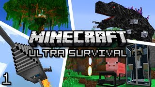 Minecraft: Ultra Modded Survival Ep. 1 - I