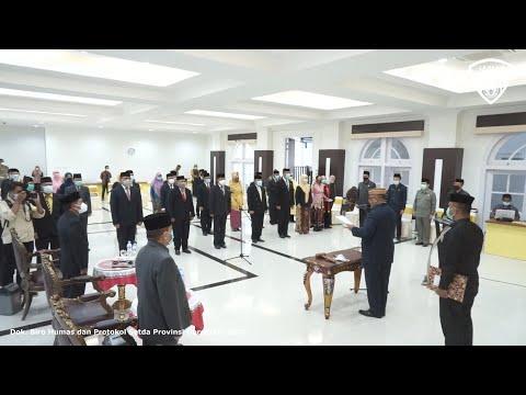 258 Pejabat Pemprov Gorontalo Dilantik Secara Virtual