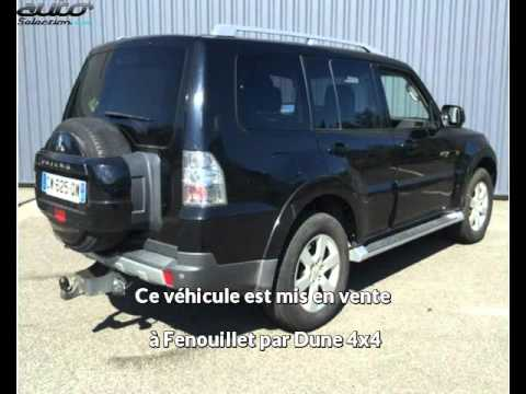 mitsubishi pajero long occasion visible fenouillet pr sent e par dune 4x4 youtube. Black Bedroom Furniture Sets. Home Design Ideas