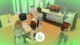 The sims mobile  ep 28 - Adam la job vorbește cu clienții