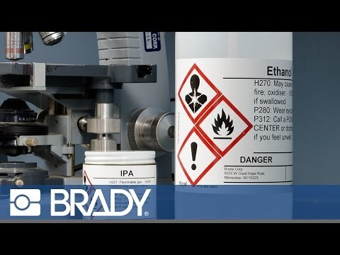 How to make GHS labels with the BBP®85 Printer