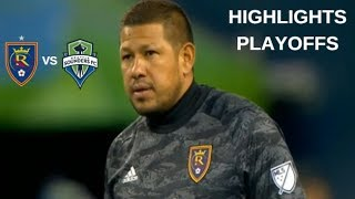 Real Salt Lake vs Seattle Sounders FC Highlights | MLS Playoffs 23/10/2019